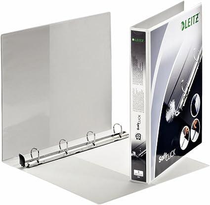 Esselte-Leitz 42000001 - Carpeta de anillas personalizable blanca ...