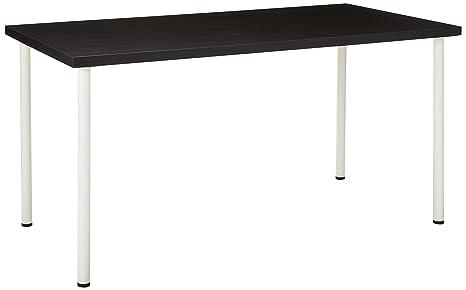 Ikea New Linnmon - Patas cuadradas para Escritorio (59 Pulgadas ...