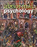 Abnormal Psychology, Fourth Canadian Edition, , 0470161035