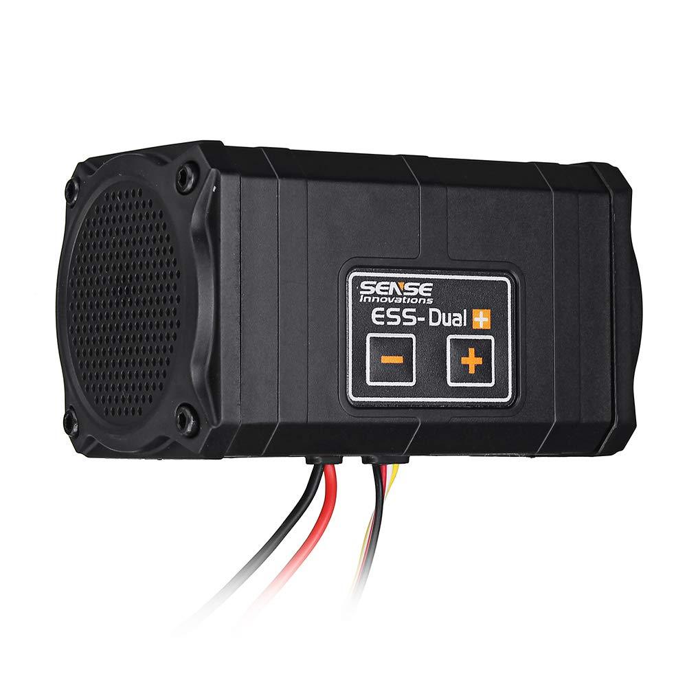 LaDicha Sense Innovations ESS-Dual 2 Altavoces Simulador De Sonido del Motor para Axial Scx 10 II Wraith Traxxas Trx4