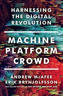 Book Cover: Machine, Platform, Crowd: Harnessing the Digital Revolution