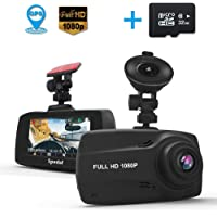 Spedal Dash Cam with GPS, 2.7