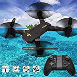 Cewaal XS809W Foldable Set High Drone with Camera, RC Quadcopter with One Key to Take Off/Return Altitude Hold 3D Rolling Drone Designed for Kids