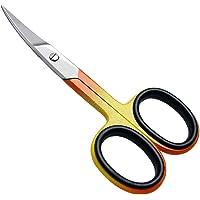 Ciseaux à ongles Professionnels Ciseaux incurvé Acier Inox Ciseaux de manucure et de pédicure