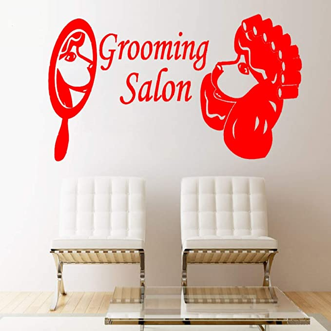 xingbuxin Tatuajes de Pared Pet Shop Grooming Salon Vinilo ...