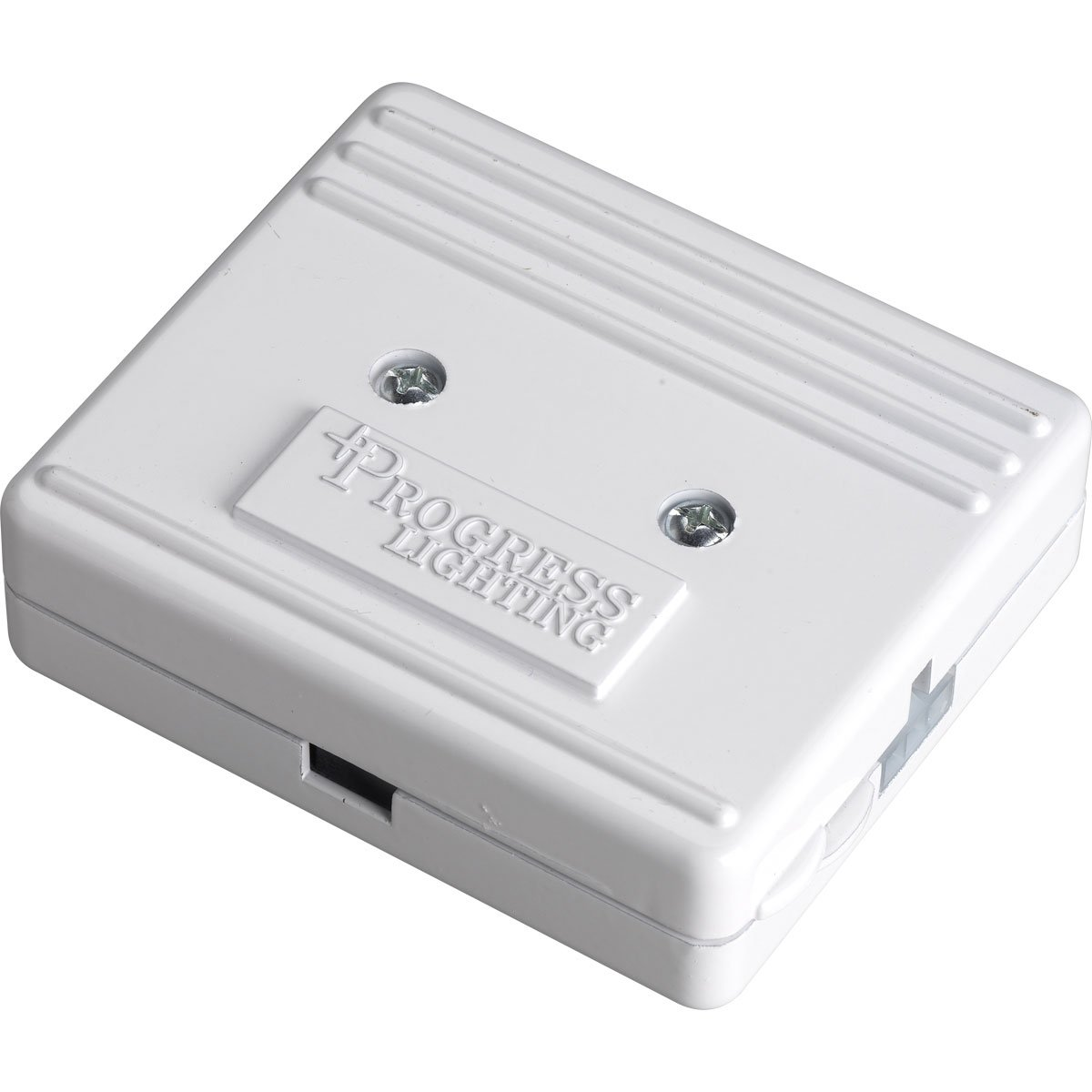 Progress Lighting P8740-30 HAL3 Junction Box Accepts Direct Covered Wire Wire Input and Provides Power For HAL3 Systems, White
