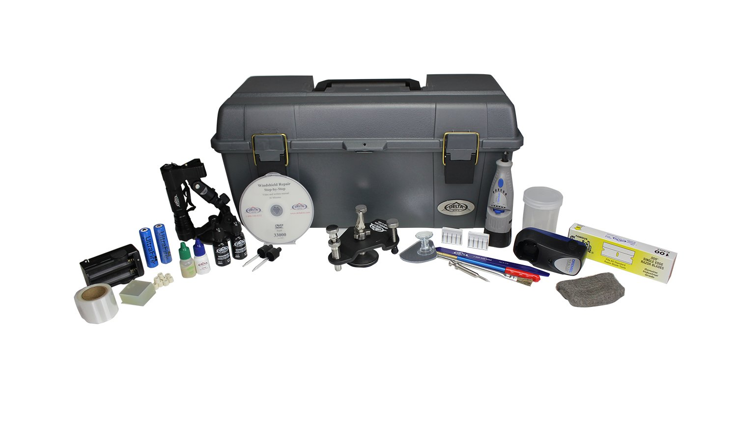 EZ-250S Mobile Windshield Repair System