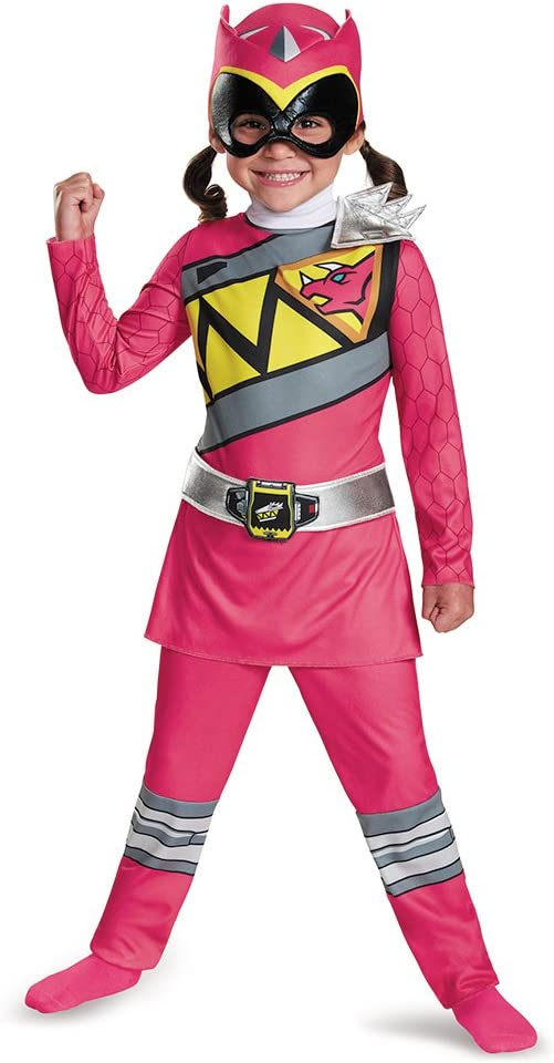 3T-4T Medium Disguise Red Ranger Dino Charge Toddler Classic Costume