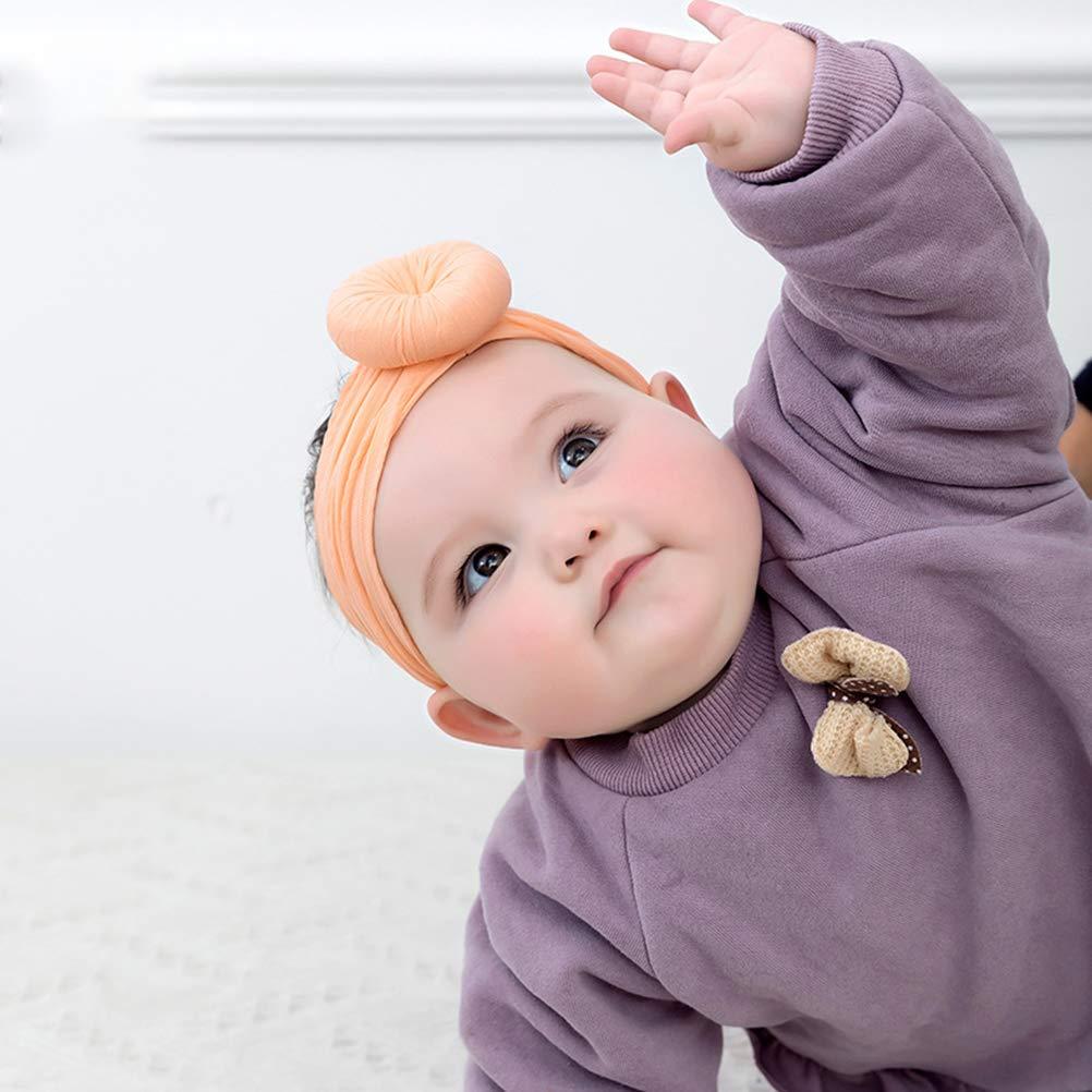 Egosy Baby Headbands Baby Girl Newborn Hair Band Diadema Suave Diadema Beb/é Joyer/ía Beb/é Joyer/ía