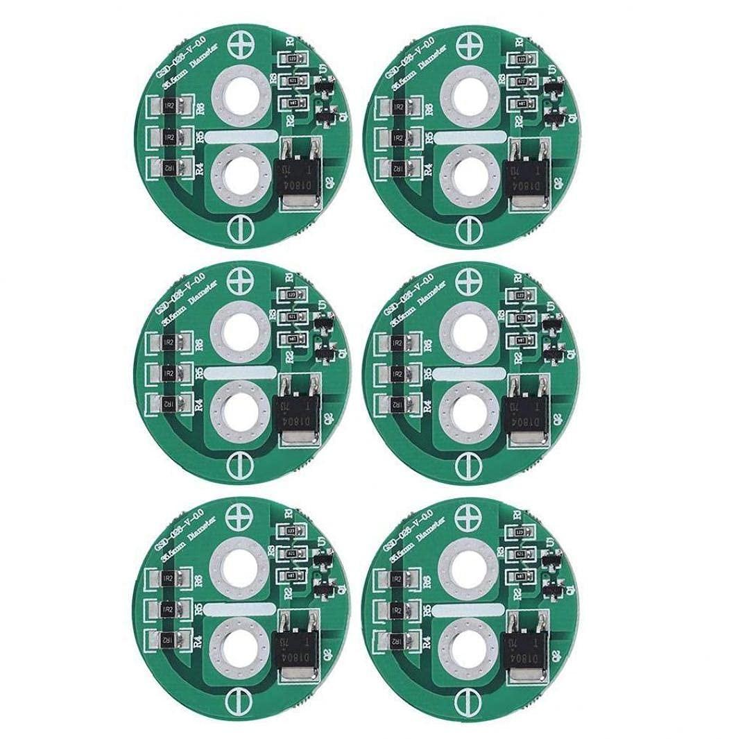 Tablero de protección del condensador 2.5V disipación de calor Limitación de voltaje Tablero de equilibrio 6pcs, componentes de productos industriales