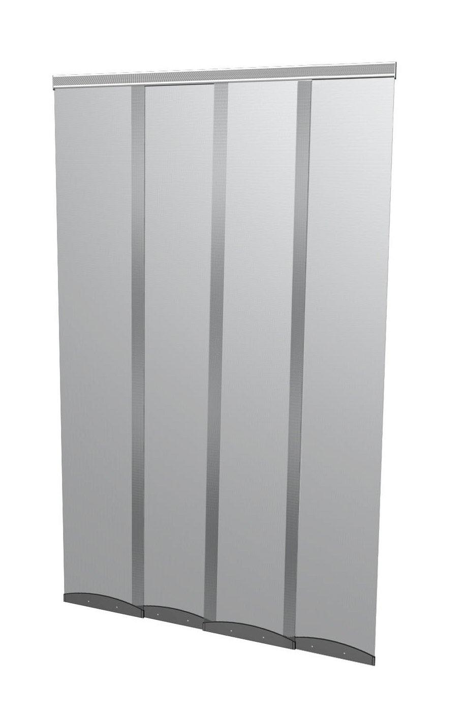Windhager Moustiquaire Plus Rideau de porte Comfort 95 x 220 cm gris 03783