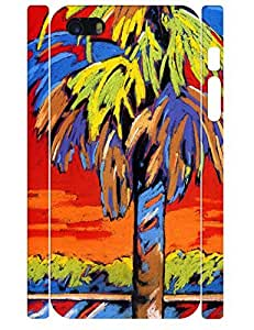 Tree Pattern Hard Plastic Phone Case for Iphone 5 5S