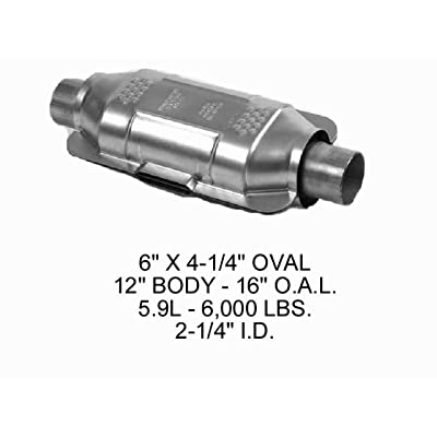 Eastern Catalytic 71317 49 State Catalytic Converter: Automotive