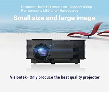 Dferuhfg VS314 HD LED Proyector, Proyector Portátil con Bolsa De ...