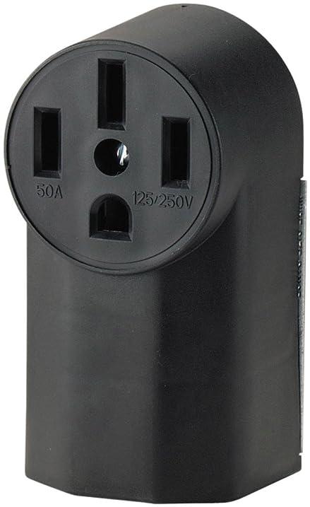Amazon.com: Eaton WD1212 50-Amp 3-Pole 4-Wire 125-Volt Surface ...