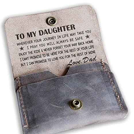 amazon com to my daughter wallet from dad love you for the rest