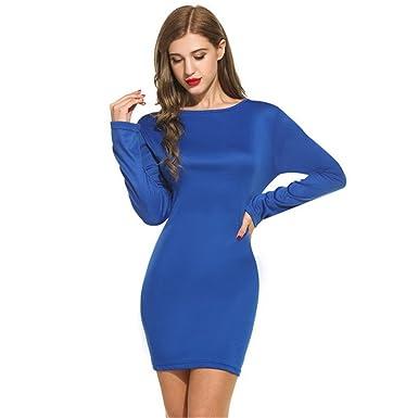 Enge kleider blau