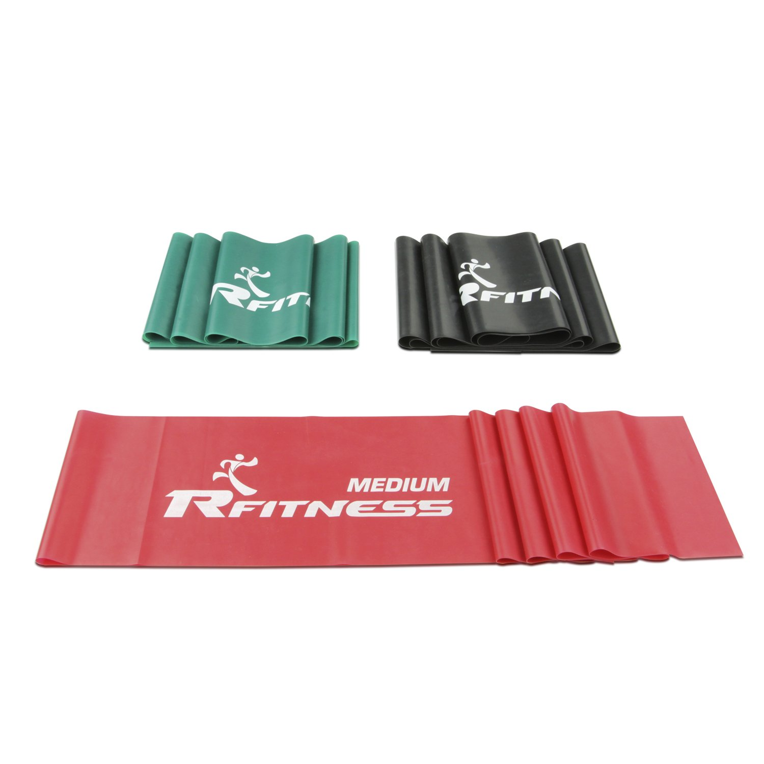 RF1502-3 Furinno Rfitness Professional Flat Stretch Exercise Band 3-PC Set