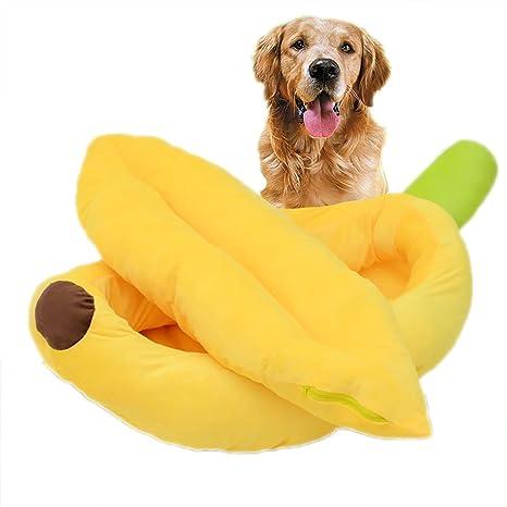 Cipway Plátano Forma Animales Camas Perro Cama Gato cojín ...