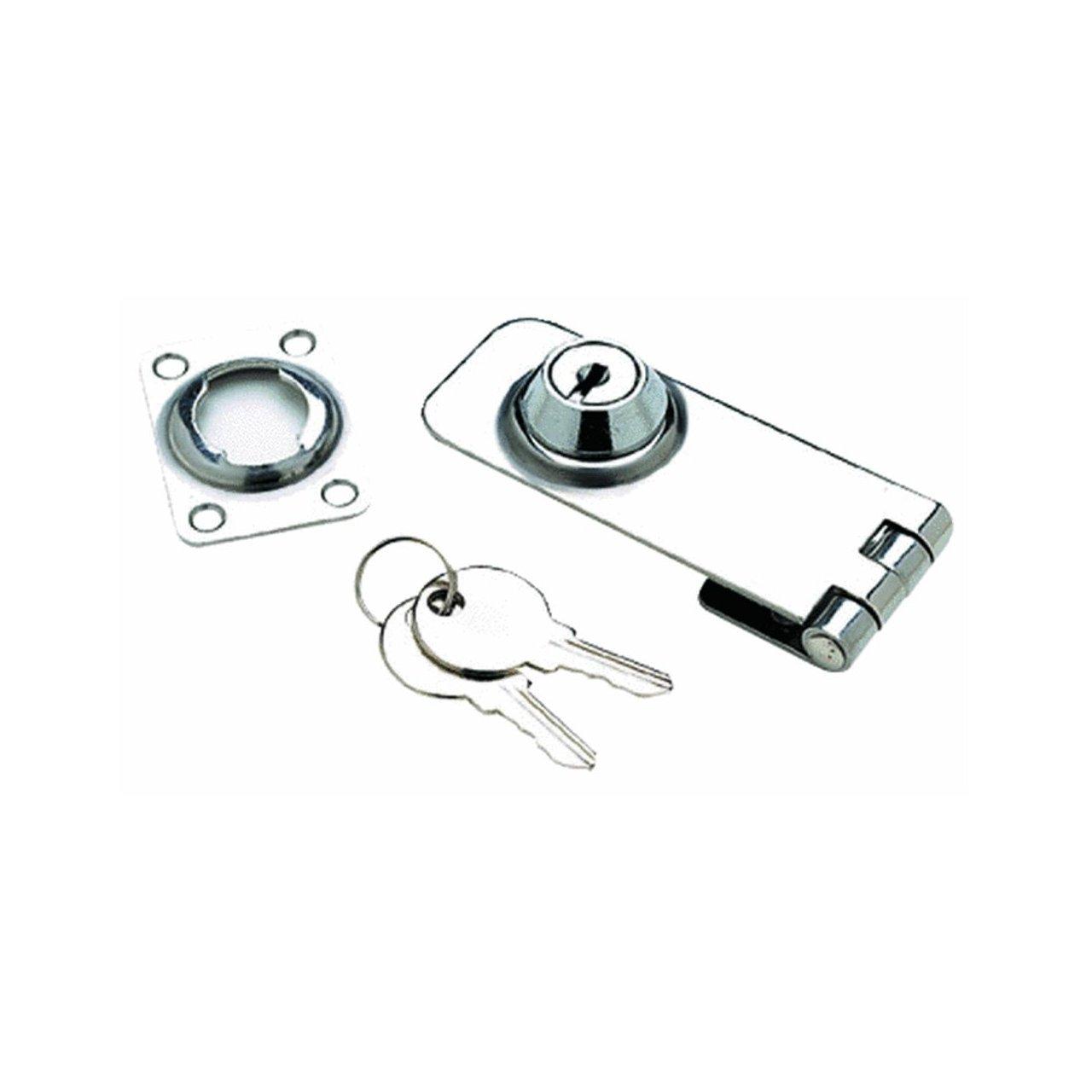 Seachoice Prod 37031 1 1 8X3 Ss Lockable Hasp