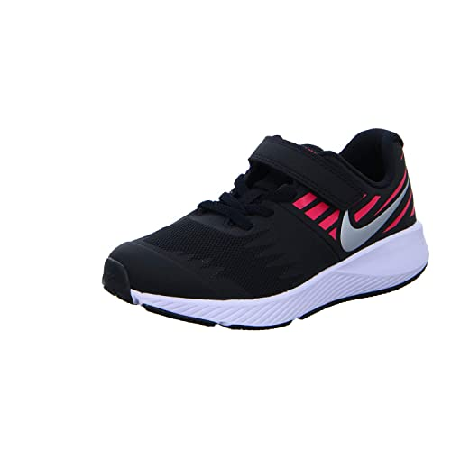 Nike 496-921442 004 Scarpa Strappi + Elastico Bambina Nero 34 fca7b138cec