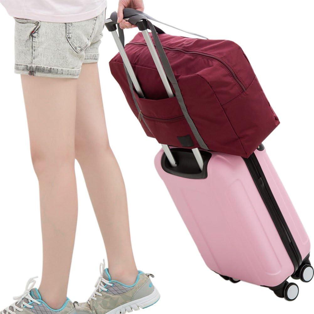 West See Duffle Bag Sporttaschen Reise-Gep/äck Leicht Wasserdichte Reise Handtasche Faltbar Packbar Schulter Organizer Aufbewahrung Tragen Tasche F/ür Gym Sport Camping Denkelblau