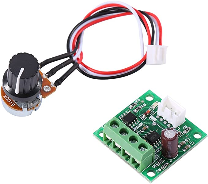 Low Voltage Dc 1 8v To 15v 2a Mini Pwm Motor Speed Controller Control Module Beleuchtung