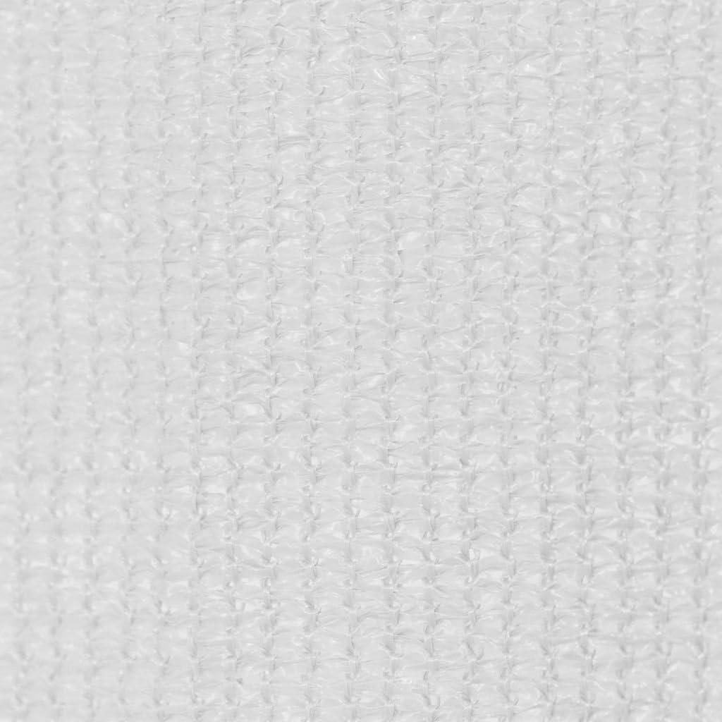 vidaXL Au/ßenrollo 140x140cm Gelb und Wei/ß Gestreift Seitenzugrollo Sichtschutz