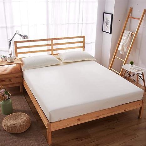 CHLCH Cubierta de colchón rellena Cubre colchón de Fibra ...