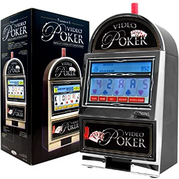 Video poker bar top casino style 7-in-1 fire red leaf green slot machine