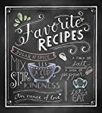 img - for Deluxe Recipe Binder - Favorite Recipes book / textbook / text book