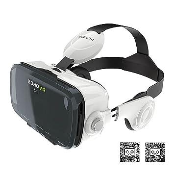 Óculos Virtual Bobovr Z4 Fone Acoplado 3d + Controle (Branco ... 322a3a7643