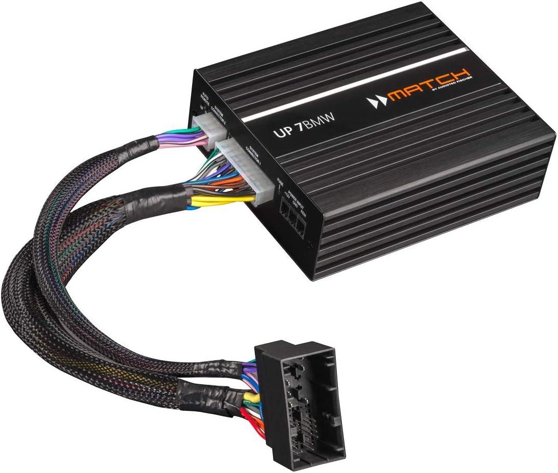 Match Up7bmw Plug And Play Dsp Verstärker Für Bmw Hifi Soundsystem 676 Elektronik