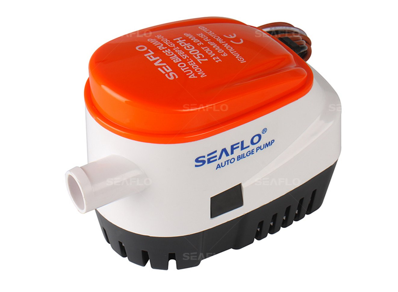 Amazon.com : Seaflo Automatic Submersible Boat Bilge Water Pump 12v 750gph  Auto with Float Switch : Bilge Pumps For Boats : Sports & Outdoors