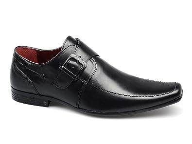 Red Tape mersey 2 Herren Leder Meißel Fuß Schnalle Schuhe