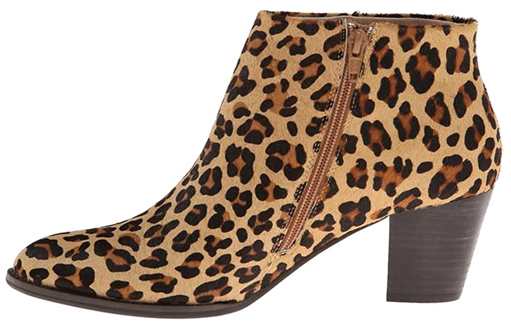 Calaier Damen Caaway 6CM Blockabsatz Mehrfarbig Reißverschluss Stiefel Schuhe Mehrfarbig Blockabsatz 8f0b94