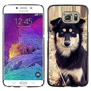 Be Good Phone Accessory // Dura Cáscara cubierta Protectora Caso Carcasa Funda de Protección para Samsung Galaxy S6 SM-G920 // Alaskan Malamute Mastiff Puppy Dog