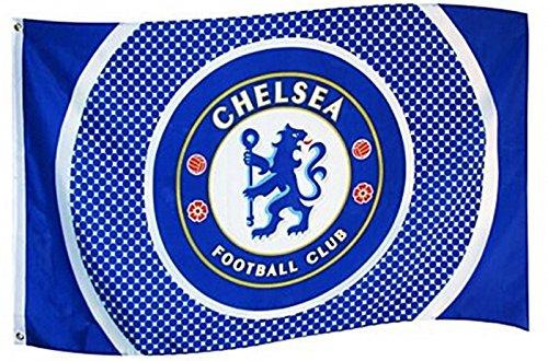 Chelsea Fc Flag (5ft x 3ft Chelsea Bullseye Flag)
