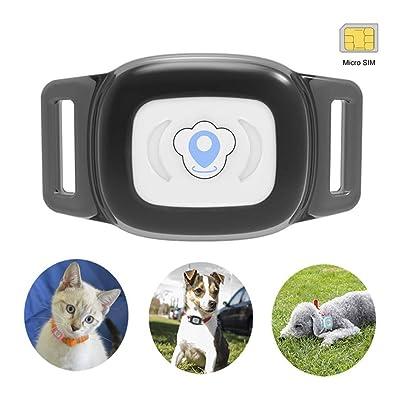 BARTUN Mini GPS Dog Cat Tracker Locator
