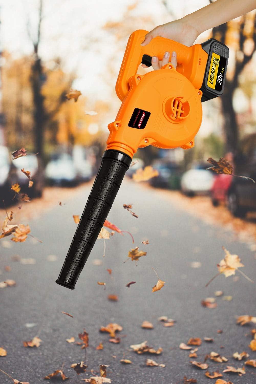 Aspiratore elettrico per foglie Bsioff YN-8010 potenza nominale: 600 W volume daria: 2,8 m3 con batteria e caricabatteria velocit/à a vuoto: 0-18000 giri//min agli ioni di litio