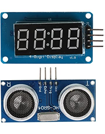 HC-SR04 Módulo Ultrasónico de Medición de Distancia + Display para Arduino Bobury
