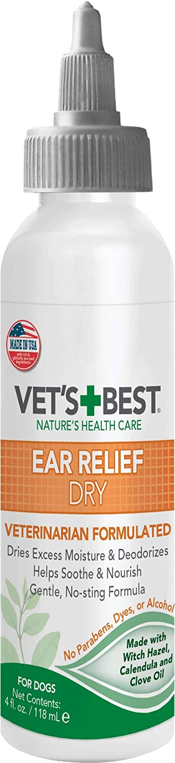 Vet's Best Dry Ear Relief for Dogs, 4 oz