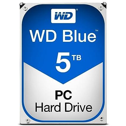 WD Blue 5TB Internal Hard Drive (WD50EZRZ) SATA at amazon