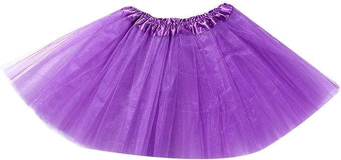 Las mujeres Falda tutú para ballet Tul de capas Princesa de Tul ...