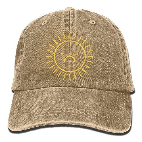 Unisex SAD SUN Jeanet Baseball Cap Adjustable Sunbonnet For Men Or Women