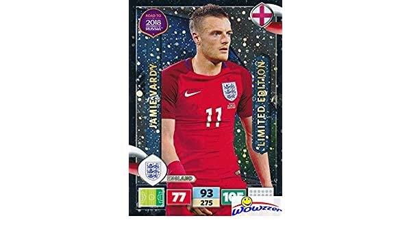 Amazon.com: Jamie Vardy 2018 Panini Adrenalyn XL Road to ...