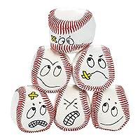 12 cara tonta pelotas de vinilo pelota de béisbol