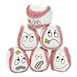 12 silly face Vinyl Baseball Kick Balls