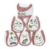 Fun Express - Vinyl Baseball Kick Balls - Toys - Balls - Kick Balls - 12 Pieces
