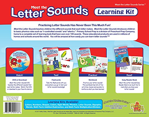Meet the Letters Sounds Learning Kit